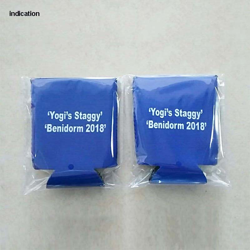 Fan Apparel & Souvenirs Sports Mem, Cards & Fan Shop NEOPRENE BOTTLE BLUE CAN HOLDER