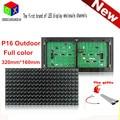 P16 outdoor rgb 320*160mm 20*10pixels 1/5 scan DIP full color LED  module for led full color display board