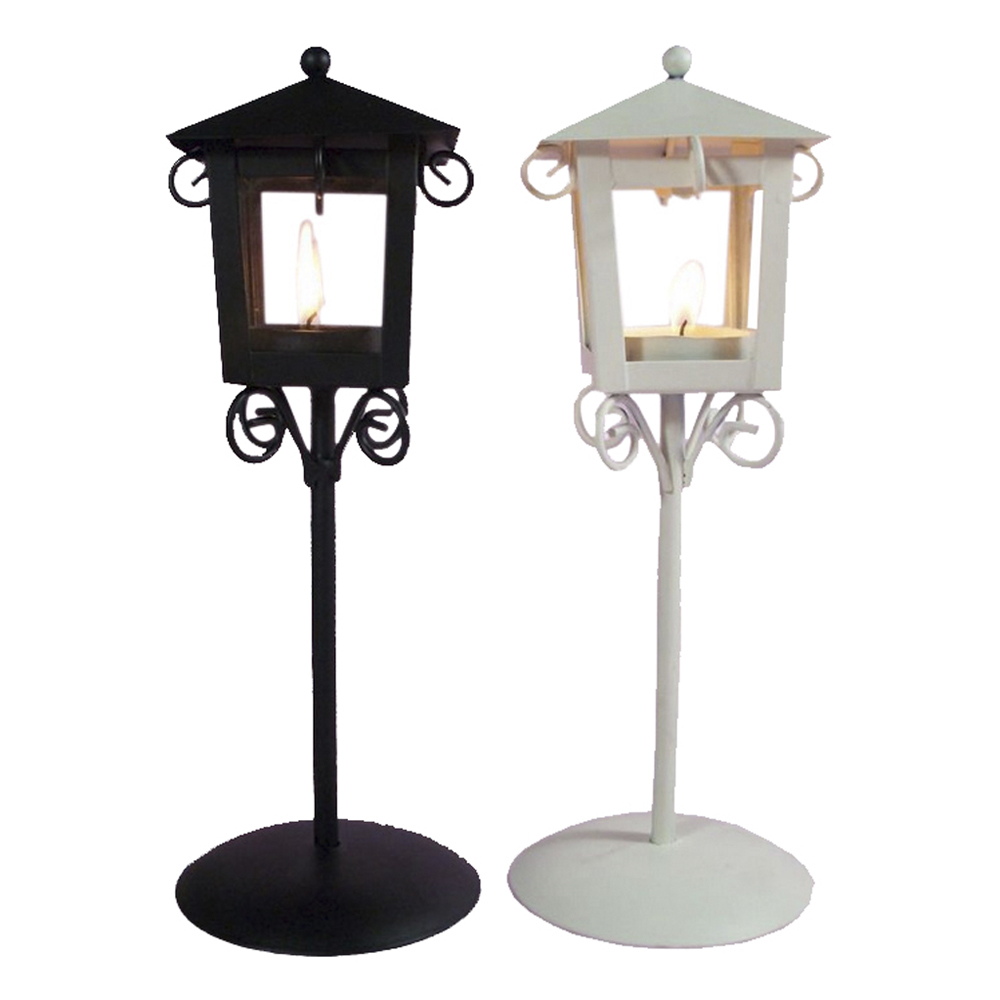 Outdoor Hanging Lanterns With Stand: Jillban Brand New 2 Colors Metal Retro Hanging Candle