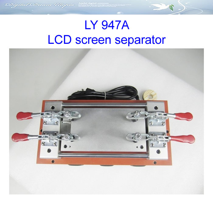 FACTORY SALE! LY 947A lcd touch screen separator machine under 7inch screen for iPhone & Samsung... free shipping screen repair machine kit ly 946d lcd separator for 5 inch mobile screen 12 in 1 separate machine