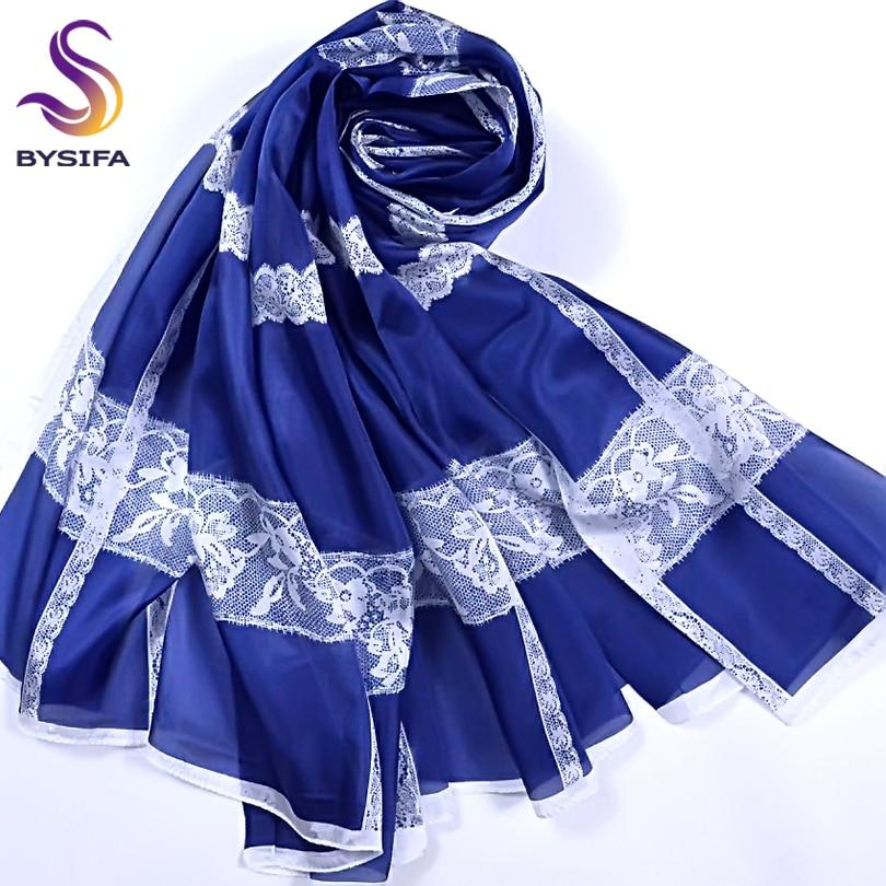 [BYSIFA] Shalpi mëndafshi Vjeshtë Ultralarge përfundon markë - Aksesorë veshjesh - Foto 3