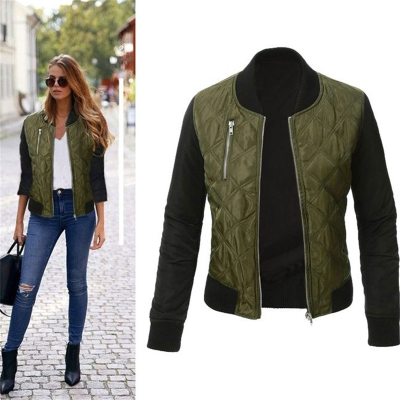 New Plus Size Cool Sports Spring Autumn   Basic     Jackets   Baseball Bomber Women Vinatge Trends Casuel New Arrival Fashion Outwear