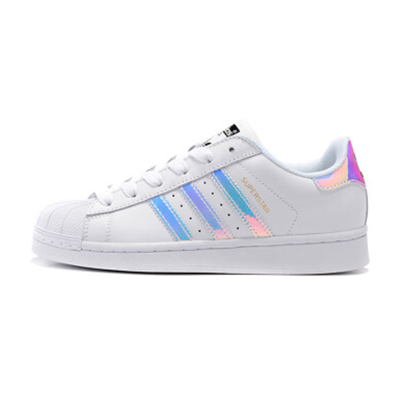 Original Adidas Official Superstar Classics Women's Skateboarding Shoes Sports Sneakers Low Top New Arrival