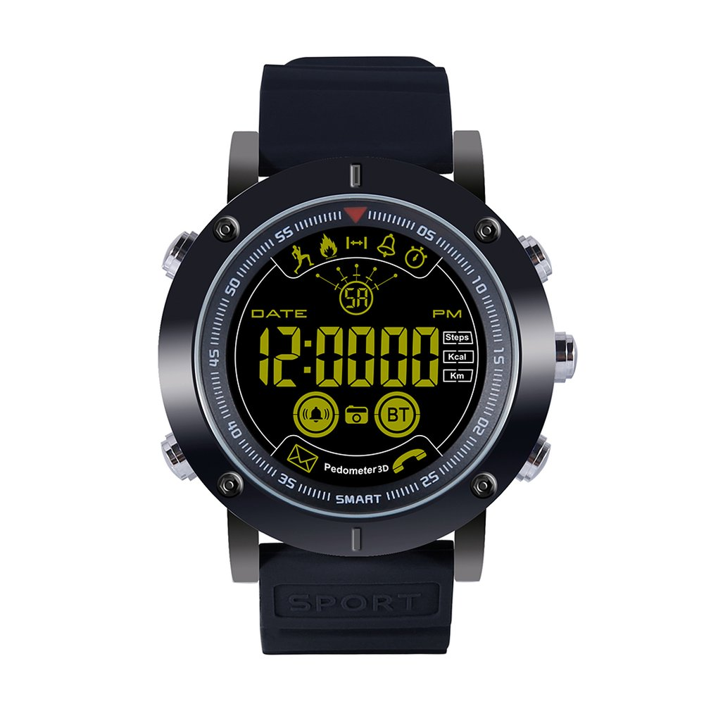 Ex19 Sport Smart Watch Swimming Professional Waterproof Long Standby Time Activity Tracker Step StopwatchEx19 Sport Smart Watch Swimming Professional Waterproof Long Standby Time Activity Tracker Step Stopwatch