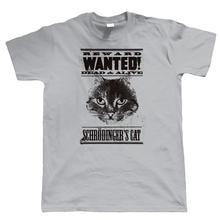 Family T Shirts Schrodingers Cat Physics Geek Hipster Pc Gamer Men'S 100% Cotton O-Neck Short-Sleeve Tee