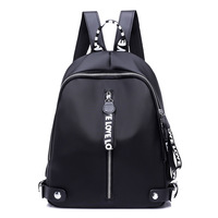 New Arrival 2017 Ribbon Oxford Backpack Female Colorful Letters Travel Backpacks For Women Casual Waterproof School