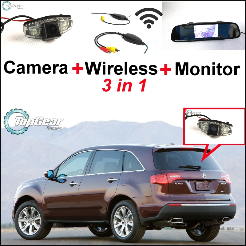 For Acura MDX TSX RL TL 3 In1 Special Rear View Camera