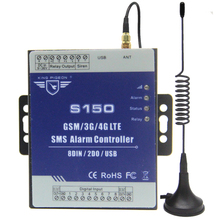 GSM/3G/4G SMS Industrial Alarm Automation Controller IOT RTU Alarm Controller S150 (8DIN,2DOUT)