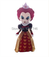 Alice in wonderland red queen mascot costume Halloween costumes free shipping