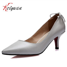 Fashion party Schuhe 2016 dünne med High Heels Spitz Pumpen Elegante damen concise Frauen schmetterling-knoten karriere weiblich pumpen