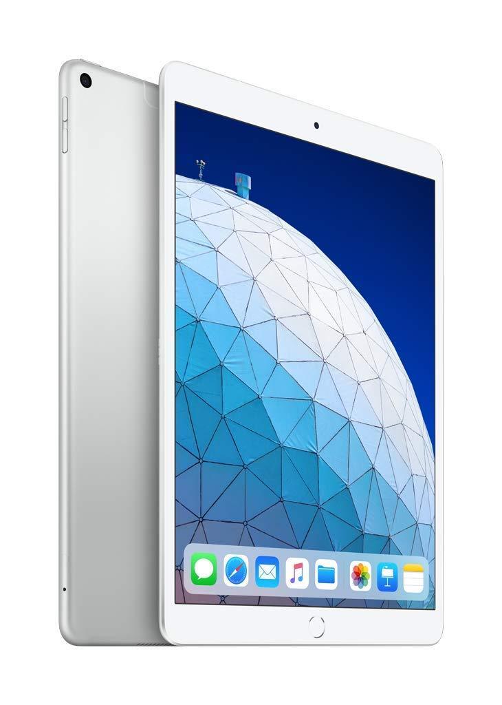 Tablette Apple iPad Air (2019), couleur argent (argent), bande 3G/LTE/WiFi, interne 64 go dur De memoria, écran 10,5