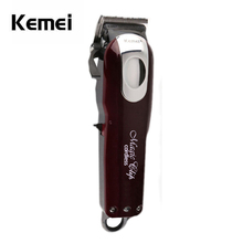 Kemei Electrical Washable Hair Clipper Rechargeable Hair Trimmer Shaver Razor Cordless Adjustable Clipper Free Transport KM-2600