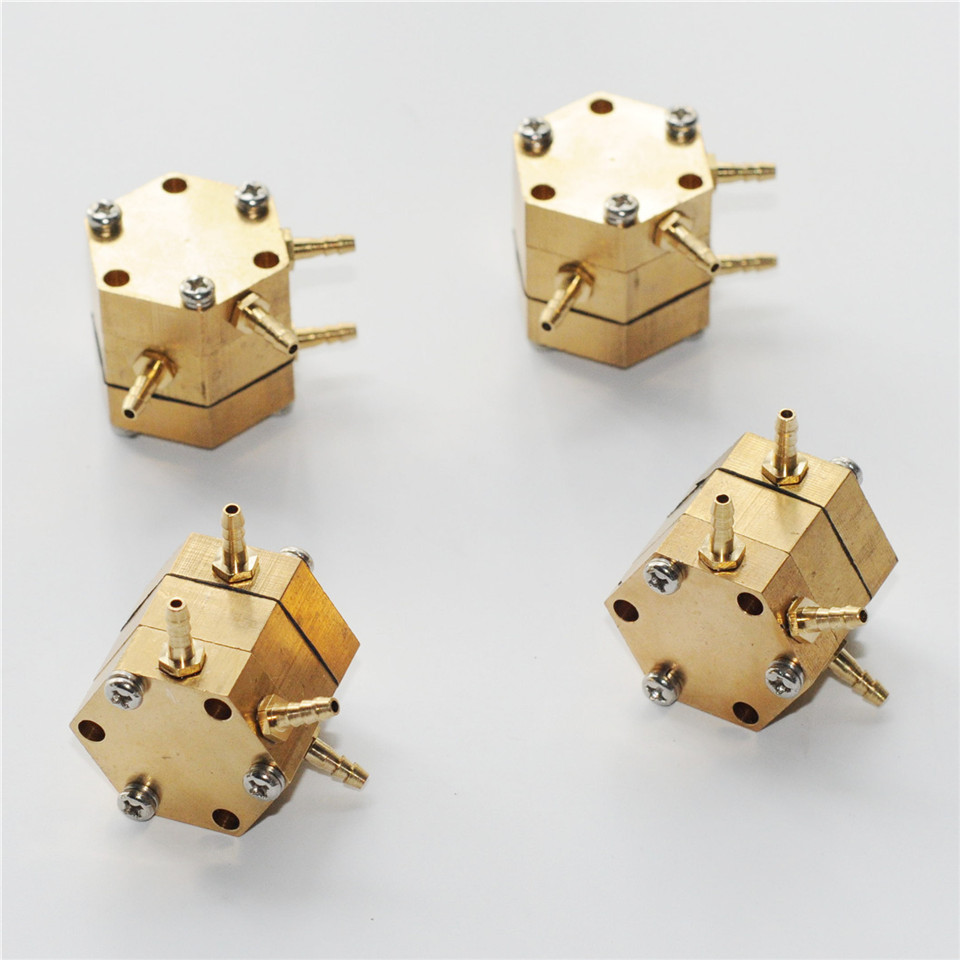 Copper Hexagonal Water Air Valve Control For Dental Chair Parts Accessories
