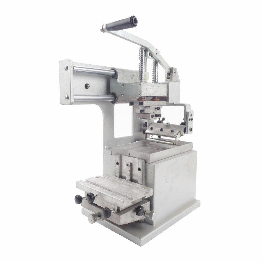 Manuel tampographie Machine équipement entreprise Logo imprimante machines huile estampage imprimante conception Die conseil Pad tête JYS100-100