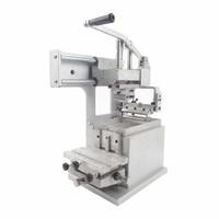 Manual Pad Printing Machine Equipment Company Logo Printer Machinery Oil Stamping Printer Design Die Board Pad Head JYS100 100