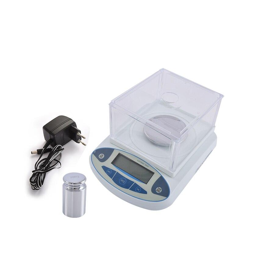 Новое поступление 500 г/0,001 г цифровой лаборатории аналитический цифровой весах Электронные весы 500 г Ёмкость 1 мг 0,001 г