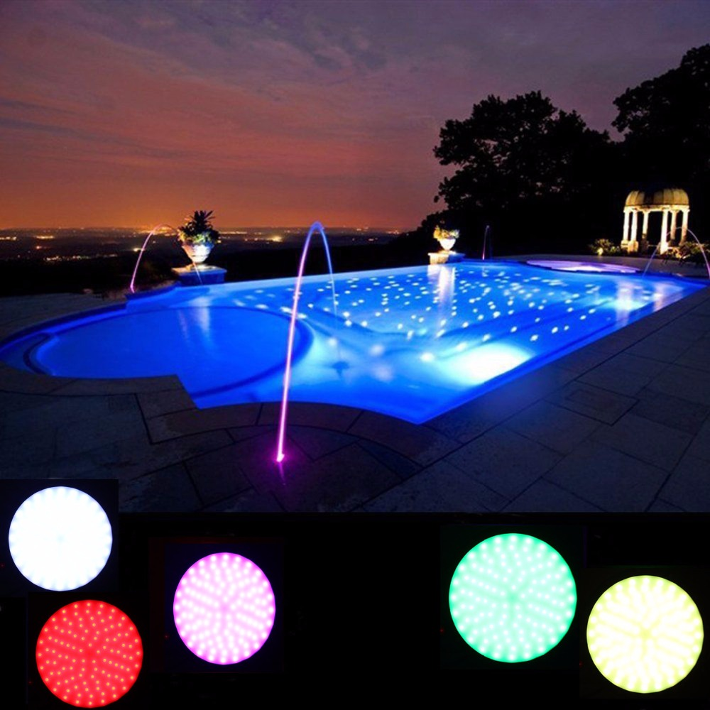 zoom control lamp floating swimming led remote lights lighting eshine solar underwater with rgb light pool