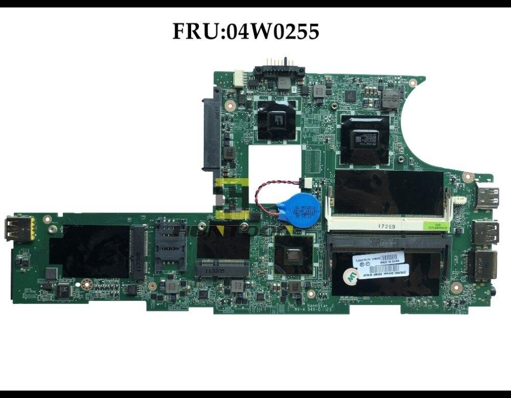 High quality Brand NEW For Lenovo Thinkpad Edge E10 DDR3 Laptop Motherboard DAFL6AMB8D0 04W0255 AMD DDR3