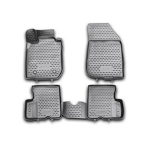 Коврики 3D в салон For RENAULT Duster 2WD, 2011-2015, 4 шт. (полиуретан)