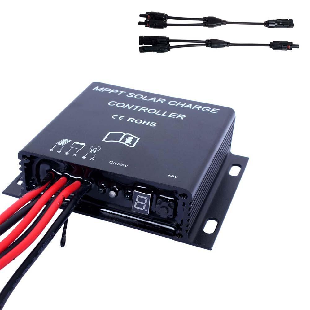 20a Mppt Solar Panel Battery Regulator Charge Controller