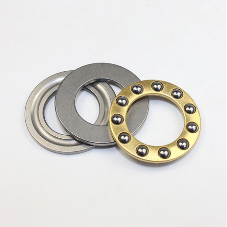 100pcs free shipping F5-10M Thrust Ball Bearing 5x10x4 mm miniature bearing Plane thrust ball bearing <font><b>5*10*4</b></font> image