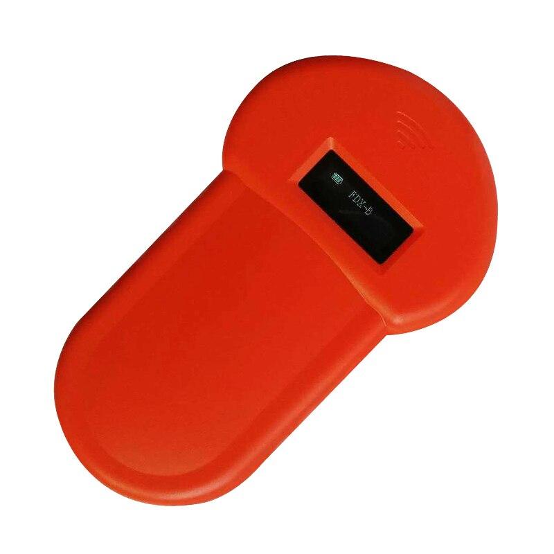 Portable ISO11784/11785 Pet RFID Chip Reader 134.2KHz FDX-B LCD Display For Animal Microchip Scanner