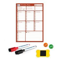 YIBAI A3 Flexibele Magnetische board Kalender, 30*42cm Droge Earse Magneten Waterdichte Plan Bericht WhiteBoard Voor Koelkast Memo