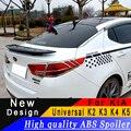 Универсальный для Kia K2 K3 K4 K5 Высококачественный ABS Материал задний крыло спойлер праймер или DIY любой цвет задний спойлер