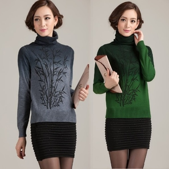 2014 fashion leisure women'sweater the spring autumn and winter big yards female cashmere sweater knitting coat