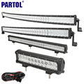 "Partol 12"" 20"" 22"" 23"" 31"" 32"" 42"" 52"" 5D LED Light Bar Work Light Offroad Driving LED Bar Combo Beam ATV SUV 4X4 4WD CREE Chips"
