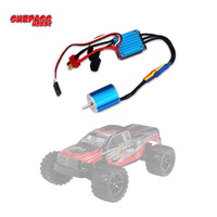 2430 7200KV Motor & 25A Brushless ESC for 1/18 1/16 HSP Redcat Traxxas HPI Tamiya RC On road Off Road Car SCT Truck