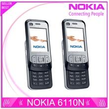 6110N Оригинальный разблокирована Nokia 6110 Navigator мобильный телефон русский клавиатура арабский клавиатура