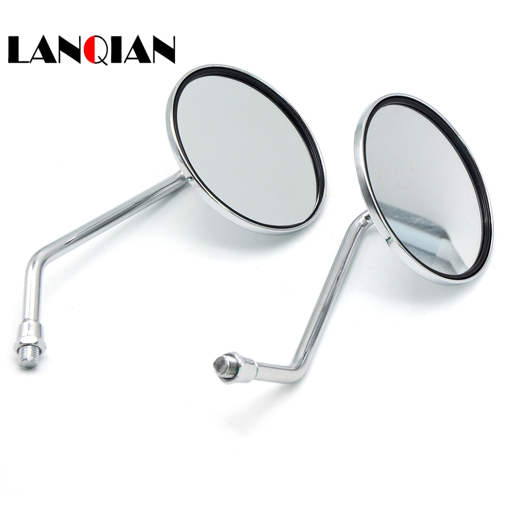For Ducati MONSTER 400 620 695 696 796 821 1100 1200 Motorcycle Mirrors Side Mirror motorbike Rearview Mirrors 8/10mm