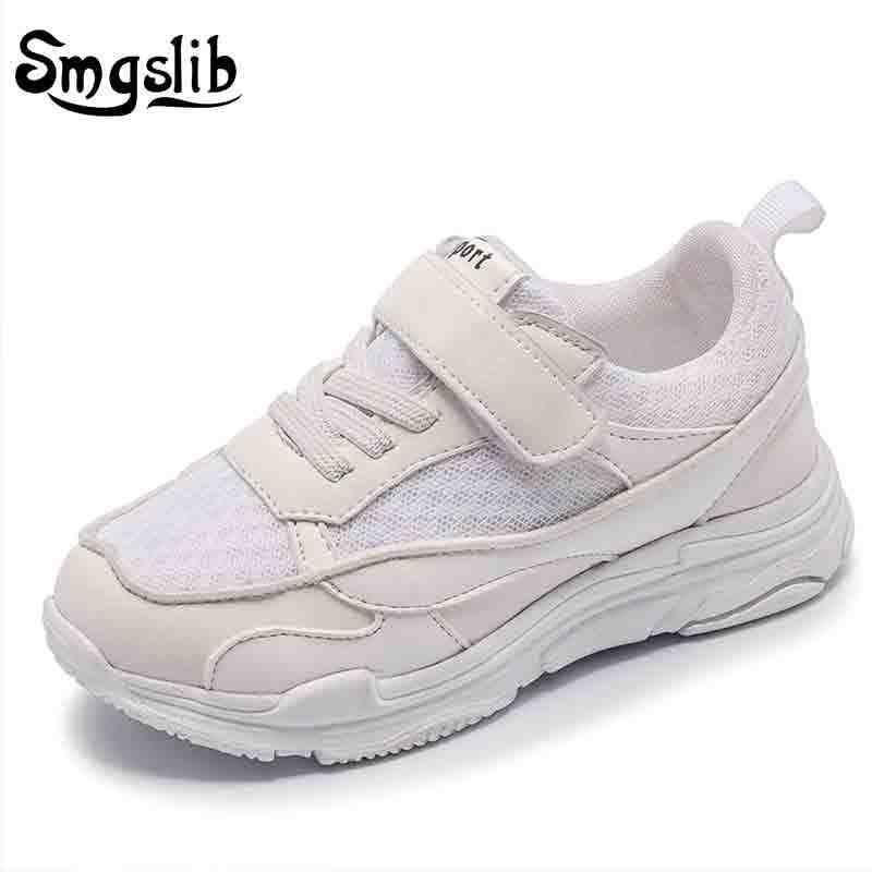 18d435a7 Обувь для детей девочек Детские Сникеры для мальчиков детские кроссовки  обувь с сетчатым верхом Весна кроссовки