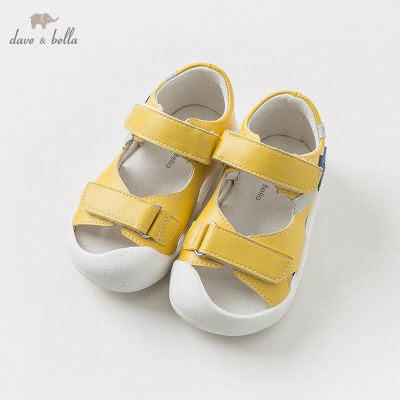 DB10452 Dave Bella été unisexe sandales nouveau-né infantile chaussures garçon fille sandales chaussures décontractées