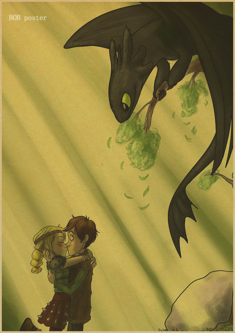 Perfect How To Train Your Dragon Wall Art Adornment - All About ...