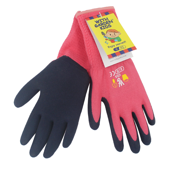 Gardening Gloves 5 Pairs Children Garden Work  Gloves For Kids