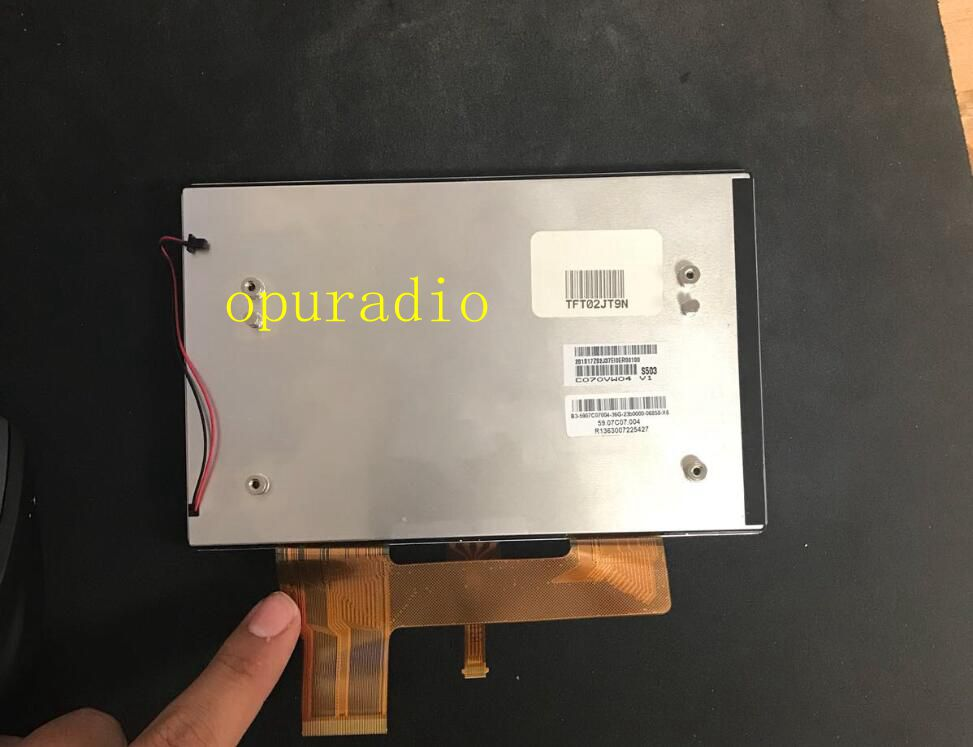 Brand new AUO 7inch LCD display C070VW04 V1 with touch screen TFT panel for Iveco car