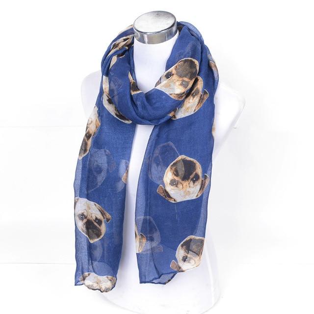 Chinesische Shar Pei Hund Muster Gedruckt Lange Tücher Sharpei Hunde ...