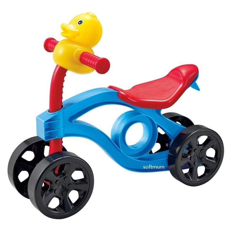 Enfant Balance vélo bébé marcheur apprendre à marcher flaque Scooter sens de l'équilibre pas de pédale équitation Tricycle jouet cadeau enfants 1-3 ans