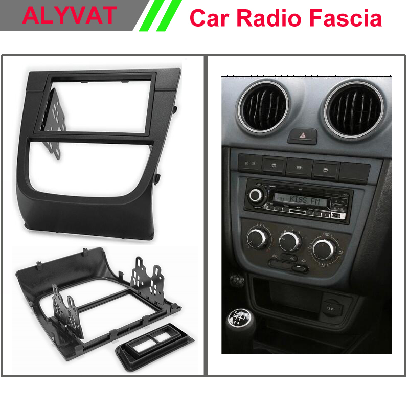 Auto Dash CD Panel for VOLKSWAGEN  VW Gol (G5) 2008+, Voyage 2008+;Saveiro 2009+ Stereo Fascia Dash CD Trim Installation Kit бинокль rekam voyage kit 7x50 4x30 2шт