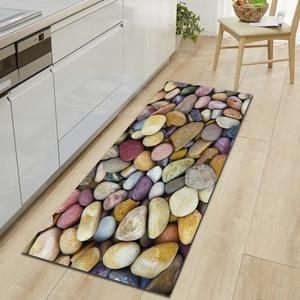 Image 1 - Zeegle Kitchen Floor Mat Non slip Carpets Table Floor Mats Absorbent Kitchen Rugs Soft Rug 3D Printed