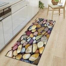 Zeegle alfombrilla antideslizante para cocina, tapete absorbente para cocina, suave, estampado 3D