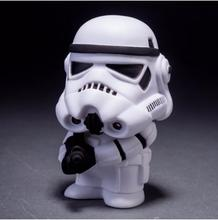 8cm 2pcs/lot Q Style Star War Darth Vader & STORM TROOPER Action Figure Model Toy Free shipping