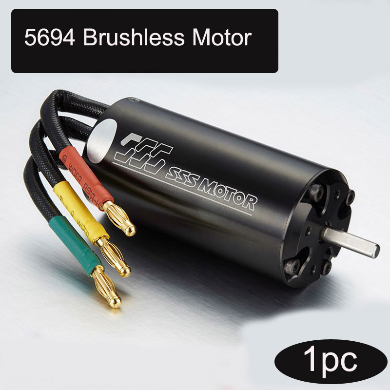 1pc SSS 5096 6 pole Servo Motor Inner Rotor Water cooled Motor RC Motor for DIY Toys Parts RC Brushless Boat/Car/Aircraft Model