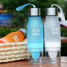650ml Fruit Juicer Outdoor Sports Portable Squeezer Water Bottle