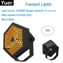 Free Shipping Warm White Transport Lights High Quality 3X300W P-h-ili-ps Lamp Stage Effect Lights DMX Strobe Lights Disco Lights printio vstre4a ili rastovanie