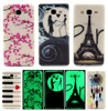 DEEVOLPO Noctilucent Bag Cases For Samsung Galaxy On5 G5500 G550 On 5 2015 version Slim TPU Gel Soft Mobile Phone Cover DP54