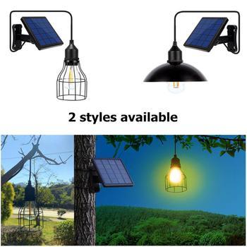 Garden Solar Light Retro Bulb Chandelier  4