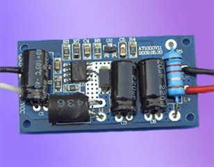 LED Constant current driver;DC:12V-16V input;750mA/3*3W output;P/N:AT1000